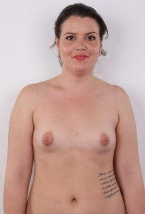Flat naked girl chubby chested