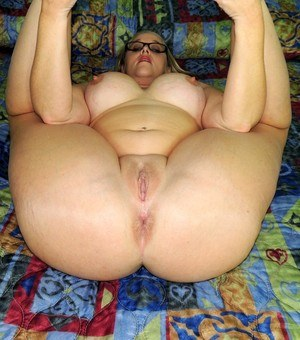 A bbw and a fake tit slut playing with each other 8
