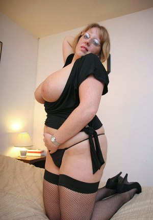 Chubby girls stockings really. All